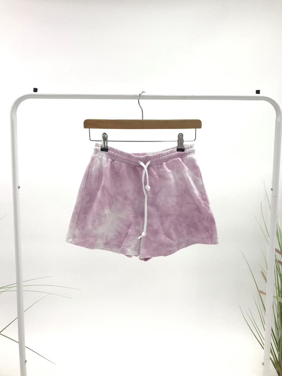 Pink Tie Dye Short