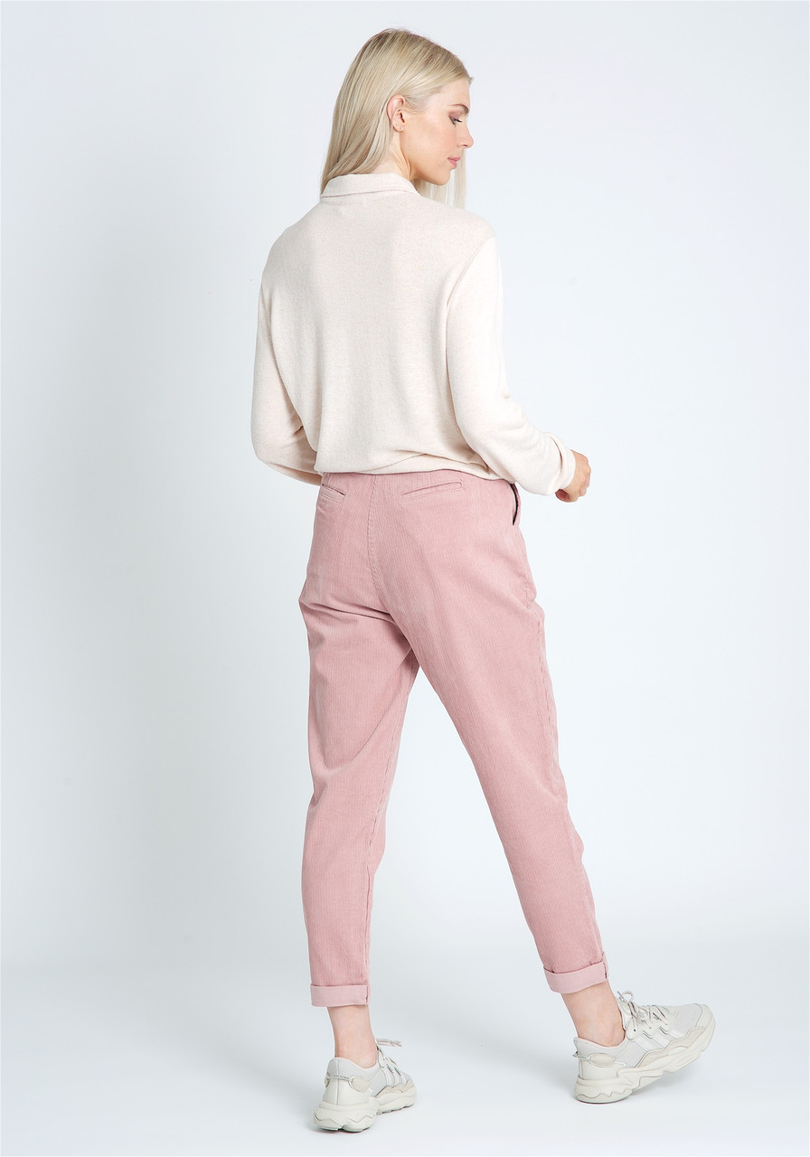 Soft Brushed Cotton With Self Collar And Statement Button Fastening