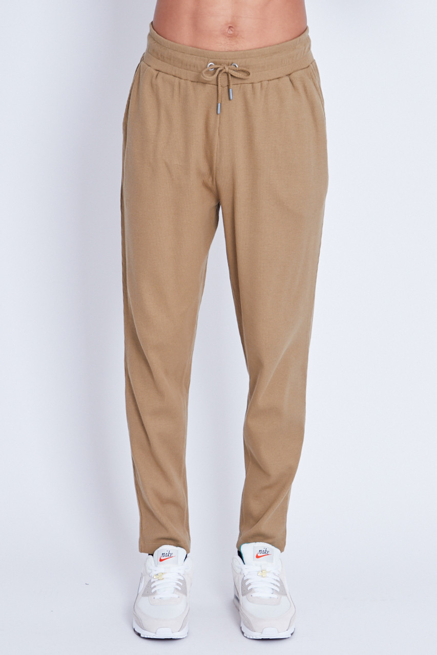 Relaxed Trouser In Waffle Fabric