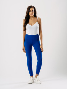 Jersey leggings in Royal Blue