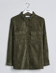 Khaki Corduroy OverShirt