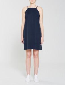 Navy Tencel Slip dress