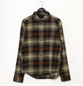 Green Brae Long Sleeve Check Shirt