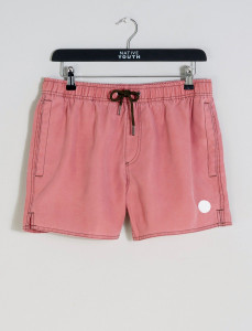 Pink Sandside Salt Faded Swim Short