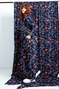 Stella Constellation Print Wide Leg Trousers
