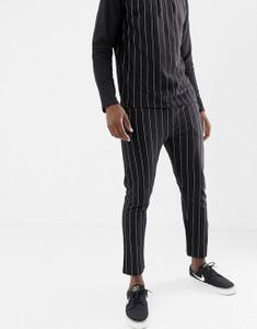 Pinstripe Slim Fit Jersey Joggers
