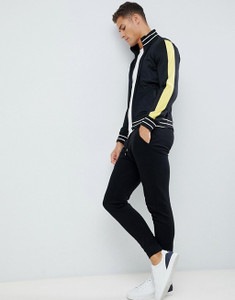 Trecot Paneled Zip Through Jacket