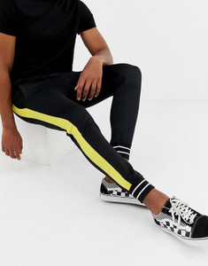 Slim Fit Side Panel Joggers