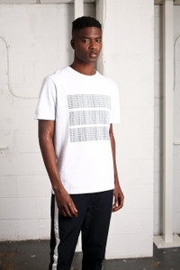 WHITE HIERARCHY TEE