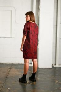 INTRICATE ROSE DRESS