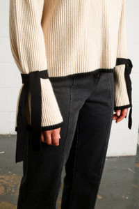 YALE KNIT - OFF WHITE