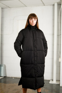 LIV PUFFER JACKET - BLACK
