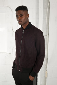 LIBERTY BOMBER - BURGUNDY