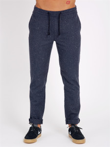 Navy Fleck Formal Slim fit Joggers