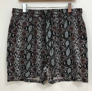 Co-ord Snake Print Revere Short