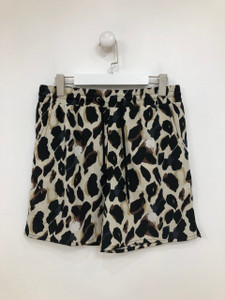 Leopard Print Resort short