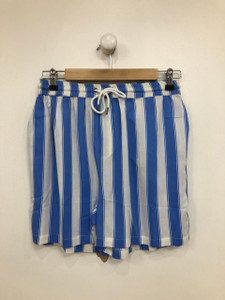 Blue Colour Stripe short