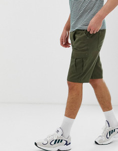 Khaki Colour Cargo Shorts