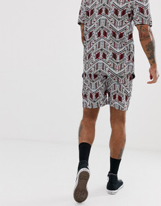 Co-ord Aztec Print shorts
