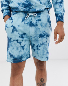 Tie Dye Sweat Shorts Co-ord