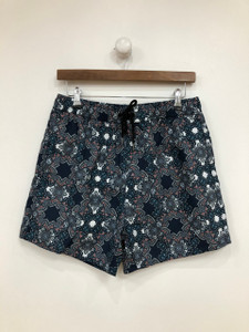 Navy co-ord Geo Print Swim Shorts