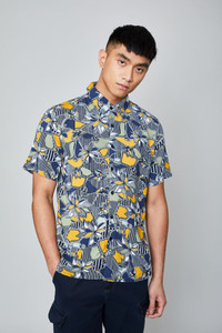The Geo Flora Shirt