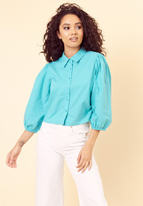 Vintage Balloon Sleeve Blouse