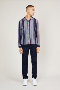 Native Youth Stripe Button Down Shirt