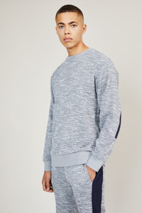 Native Youth Grey Crew Neck Sweat