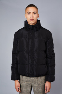 Native Youth Black Puffer Jacket