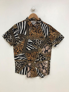 Ladies Baroque & Animal Printed Blouse
