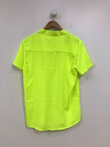 Ladies Neon Yellow Blouse