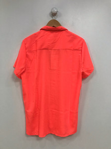 Ladies Neon Coral Blouse