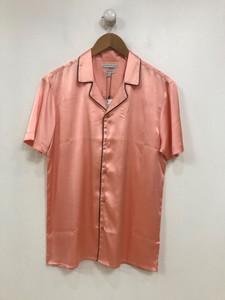 Ladies Pink Satin Co-Ord Blouse