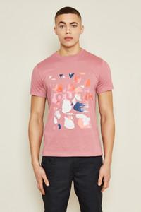 Terrazzo Logo T-Shirt - Pink