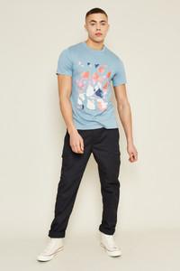 Terrazzo Logo T-Shirt - Blue