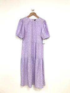 Lilac Tier Midi Dress