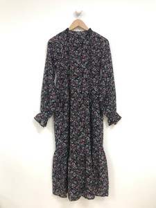 Dropped Waist Smock Midaxi Dress