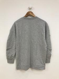 Grey Longline Sweat Top