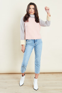 Multi Colour Block Jumper