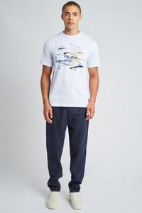 Aqueous Graphic Print T-Shirt
