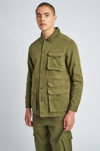 Eli Washed Cotton Multipocket Jacket