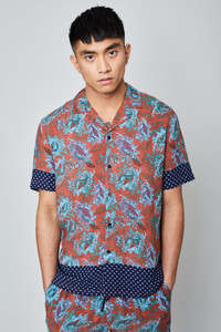 The Wright  Printed Shirt