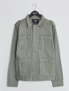 Olive Sharrow 4-Pocket Shirt Jacket