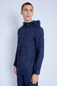 Overhead Jacket With Cargo Pockets