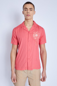 S/S Shirt With Provencal Graphic