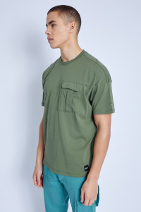 S/S T-Shirt With Cargo Pocket