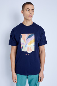 S/S Mimosa Graphic Print T-Shirt
