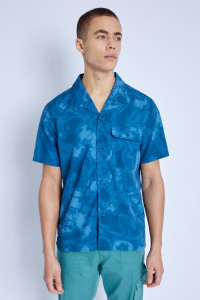 S/S Shirt In Tie Dye Print