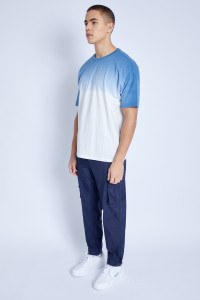S/S T-Shirt In Ombre